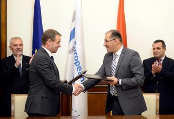 Հայաստանի Հանրապետության և Եվրոպական ներդրումային բանկի միջև ստորագրվել է համաձայնագիր